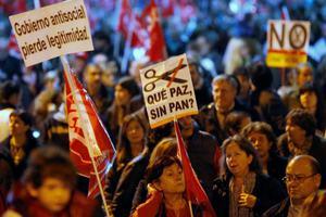Ογκώδεις διαδηλώσεις κατά της λιτότητας στην Ευρώπη