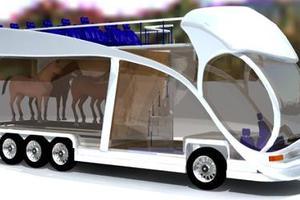 Λεωφορείο με μηχανή... άλογο