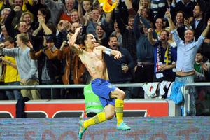 Γκολ στο 26ο δευτερόλεπτο για τον Ιμπραΐμοβιτς