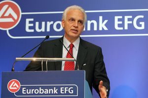 Αποχωρεί από τη θέση του διευθύνοντος συμβούλου της Eurobank ο Ν.Νανόπουλος