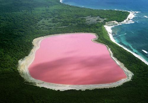 Λίμνη χίλλερ, αυστραλία