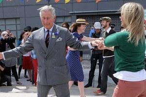 Χορευταράς ο πρίγκιπας Κάρολος