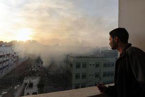 Επλήγη το αρχηγείο της Χαμάς