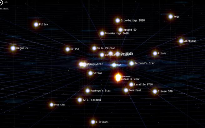Η Google μάς ξεναγεί στα αστέρια
