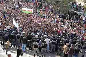 Κλιμακώνονται οι κινητοποιήσεις στην Ιορδανία