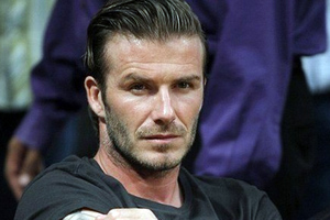 Ο David Beckham… χτυπιέται ξανά