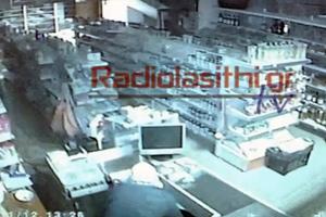 Κάμερα κατέγραψε κλοπή σε μίνι μάρκετ