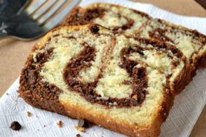 Κέικ βανίλιας με σοκολάτα