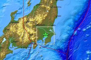 Σεισμός 4, 9 βαθμών Ρίχτερ στην Ιαπωνία