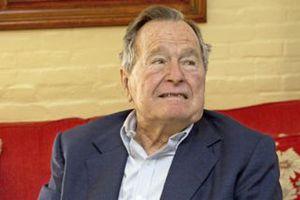 Βγήκε από το νοσοκομείο ο Μπους ο πρεσβύτερος