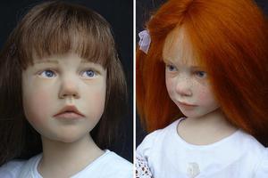 Οι κούκλες-παιδιά...