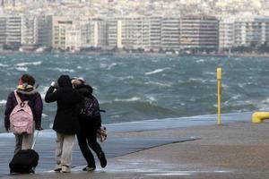 Υποχωρούν οι άνεμοι στη βόρεια Ελλάδα