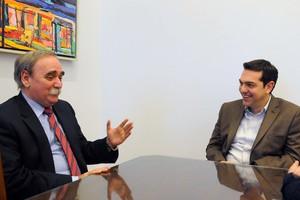 Συνάντηση Τσίπρα με το νέο πρέσβη της Κούβας