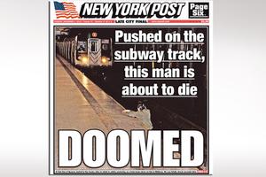 Σοκάρει πρωτοσέλιδο της New York Post