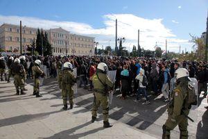 Απροσπέλαστο «φρούριο» σήμερα το κέντρο της Αθήνας