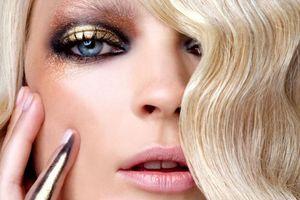 Μακιγιάζ σε χρυσές αποχρώσεις