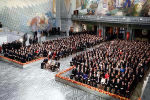 Είκοσι Ευρωπαίοι ηγέτες παραλαμβάνουν το Νόμπελ Ειρήνης