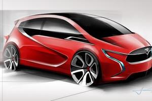 Σχεδιάζοντας ένα compact Tesla