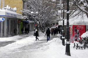 Καιρός: Χιόνισε στην Κοζάνη - Πότε θα ανέβει η θερμοκρασία