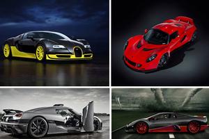 Τα γρηγορότερα αυτοκίνητα του κόσμου για το 2012
