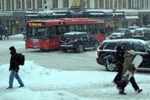 Προβλήματα προκάλεσε το χιόνι στις σκανδιναβικές χώρες
