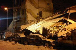 Κατέρρευσαν πολυκατοικίες στο Παλέρμο