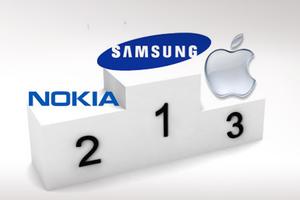 Η Samsung ξεπερνάει τη Nokia σε πωλήσεις κινητών