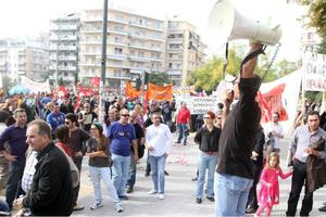 Τέσσερις απεργιακές συγκεντρώσεις στη Θεσσαλονίκη