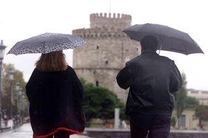 Βροχερό το σκηνικό του καιρού στη Θεσσαλονίκη