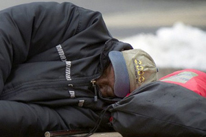 Ρεκόρ αστέγων στη Νέα Υόρκη
