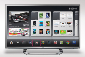 Η LG αναπτύσσει τη νέα Google TV