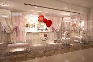 Η Hello Kitty σας καλωσορίζει στο... παιδικό σπα!