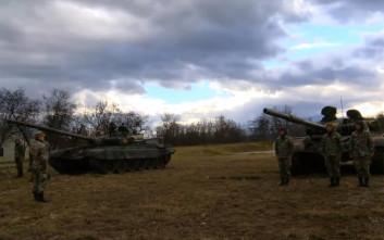Αυτή είναι η ισχύς του στρατού της πΓΔΜ