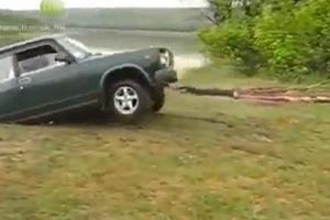 Το ντριφτάρισμα ενός Lada δεν είναι εύκολη υπόθεση