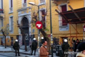 Επέμβαση της αστυνομίας στη  βίλα Αμαλία