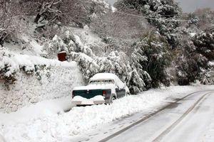 Χιονοπτώσεις και χαμηλές θερμοκρασίες στην Αχαΐα