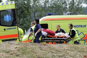 Σύγκρουση τρένων με δεκάδες τραυματίες στην Ελβετία