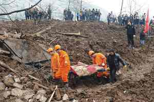 Στους 46 οι νεκροί από κατολίσθηση στην Κίνα