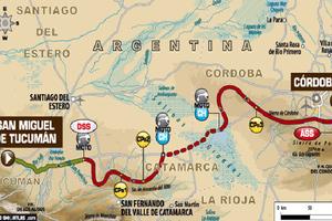 Ξεκινά η 9η ειδική στο rally Dakar