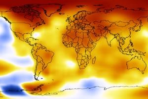 Tο 2012 στη δεκάδα των θερμότερων ετών από το 1880