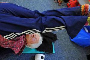 Η γηραιότερη δασκάλα γιόγκα