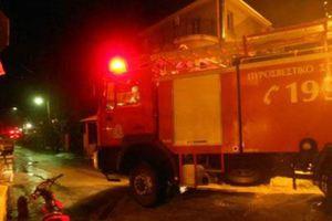 Στις φλόγες κατοικία στο Ρέθυμνο