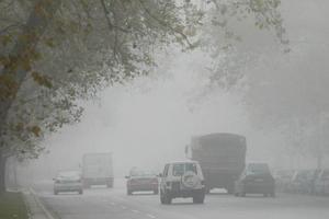 Πολλαπλές συγκρούσεις λόγω ομίχλης στη Θεσσαλονίκη