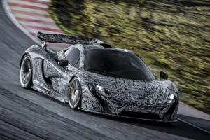 Η νέα McLaren P1 τα δίνει όλα στην πίστα