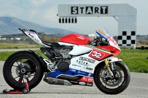 Η αγωνιστική Ducati Panigale 1199SSTK στην Ελλάδα