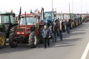 Στους δρόμους και οι αγρότες του Πηλίου