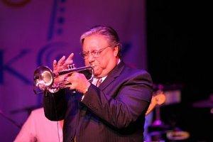 Ο Arturo Sandoval τον Φεβρουάριο στο Gazarte