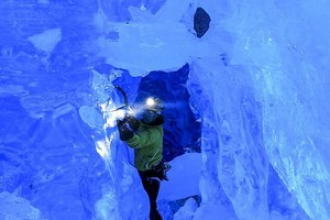 Αναρρίχηση στους παγετώνες της Αλάσκας