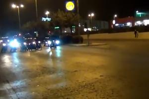 Αστυνομικό μπλόκο σε κόντρες στη Βουλιαγμένης