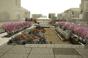 Χρώματα θα αλλάζει με τις εποχές η «Βαλκανική Πλατεία»